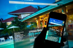 Couples Resorts 2013 Redesign made it the first of the competition to offer a fully responsive website.